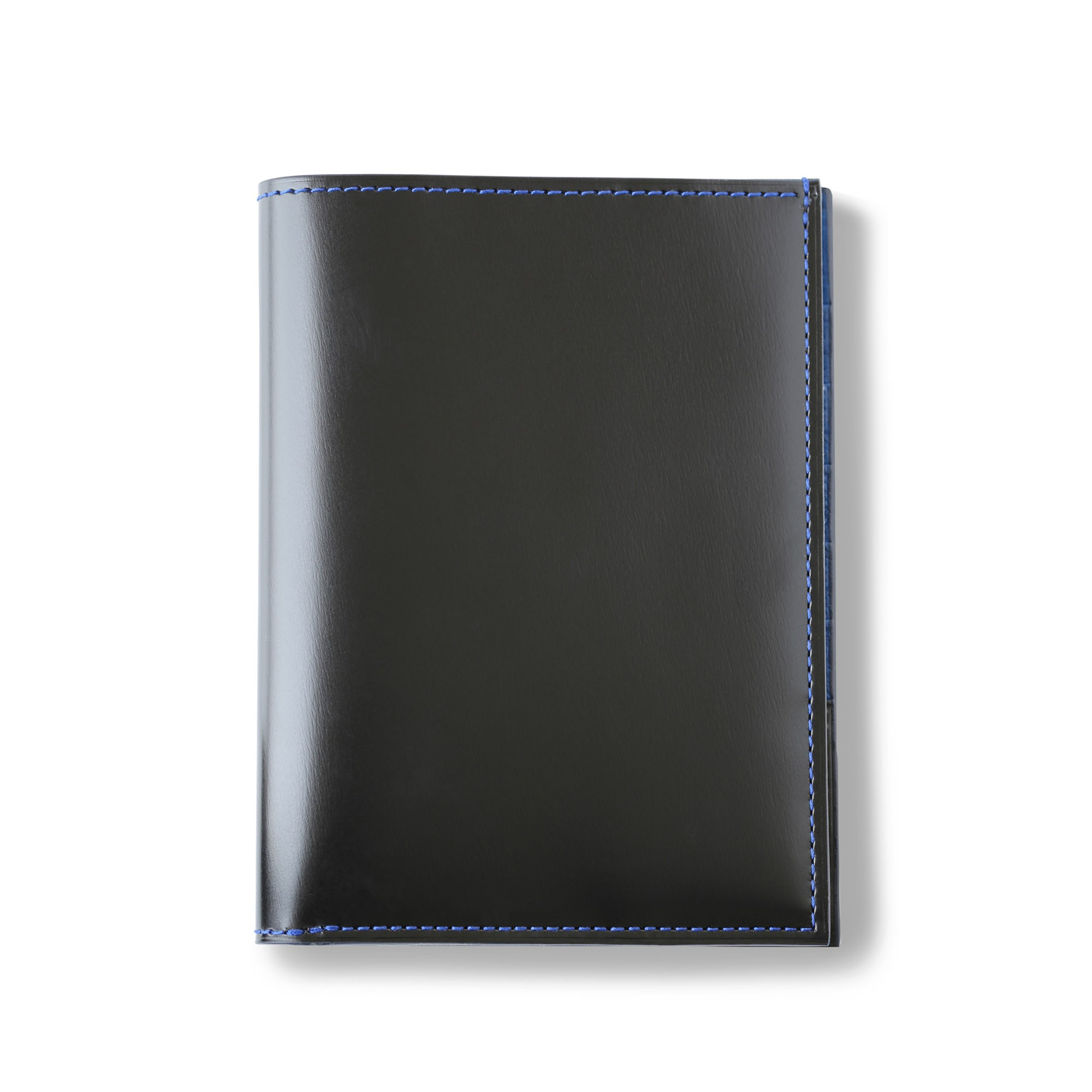 porte-papiers en cuir de box