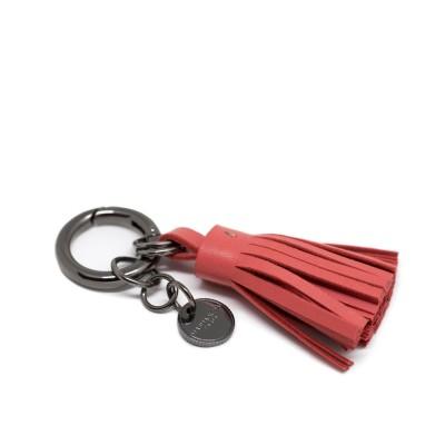 "Porte-clef ""POMPON"" - Rouge..."