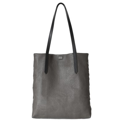 """Woven Tote"" bag - Taupe"