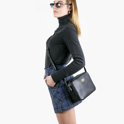 "Camera leather bag ""NINA"" -..."