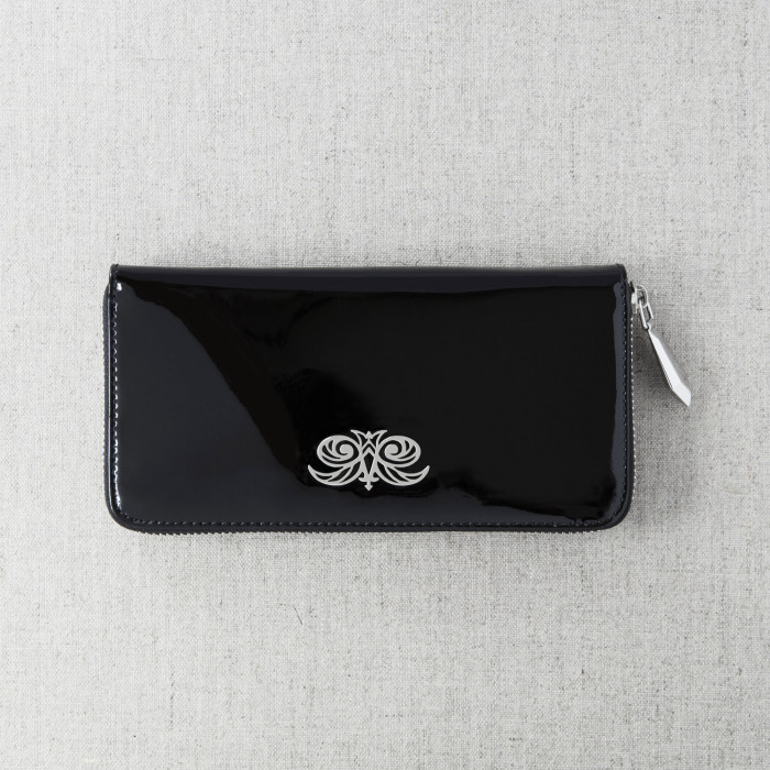 """Continental wallet """"KYOTO"""" in varnished leather"""