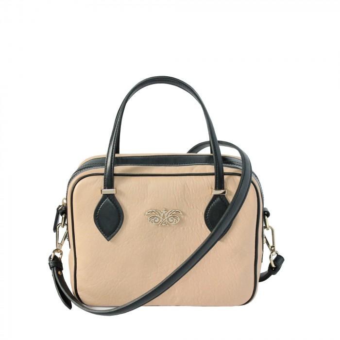 "leather handbag ""JOUR BABY"""