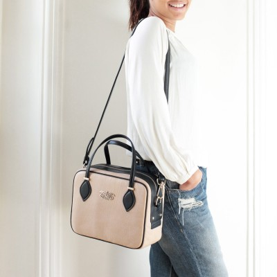 "leather handbag ""JOUR BABY""..."