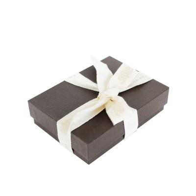 """porte-cartes et pièce d'identité """"VENDÔME"""" en cuir noir, finition box doublé de veau lisse, coloris bleu Roi - boite cadeau"""