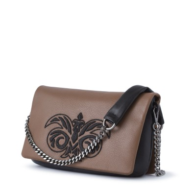 "clutch ""AVA"" in dearskin..."