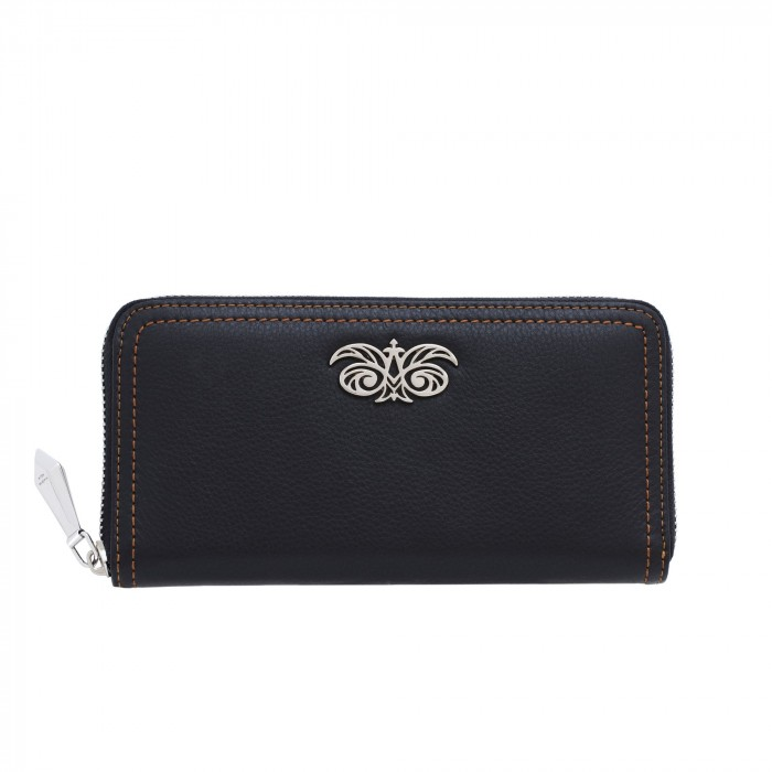 """Leather continental wallet """"KYOTO"""""""