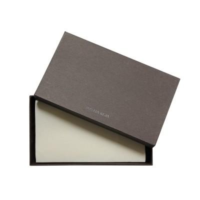 Portefeuille zippé NEW YORK en cuir foulonné - boite cadeaux