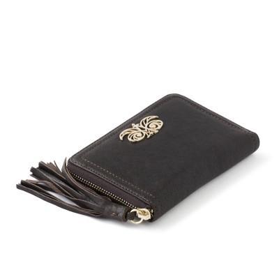Leather zip around wallet...