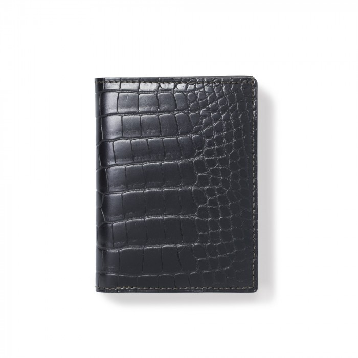 "crocodile wallet ""VENDOME"""