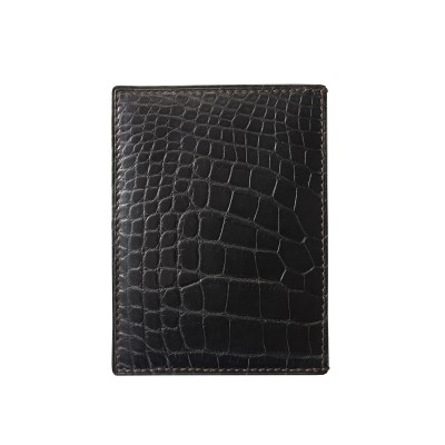 crocodile skin wallet...