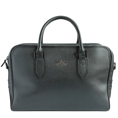 48h handbag in grained calf...
