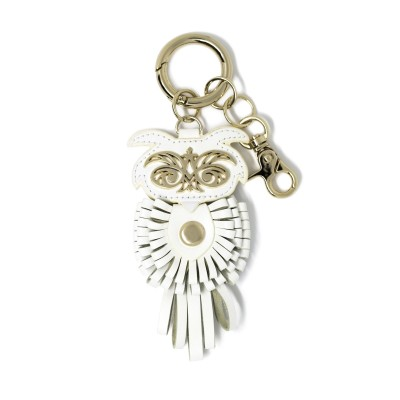 "bag decoration ""OWL"" - White"
