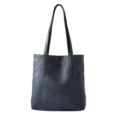 Woven leather Tote