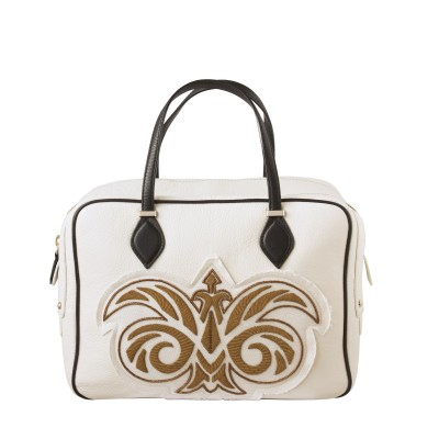 "Handbag ""JOUR"" embroidered cannetille"