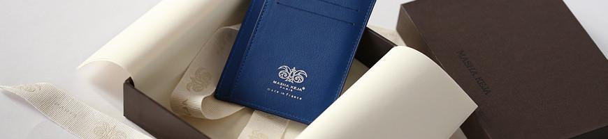 Petite maroquinerie de luxe pour homme | Porte feuille, carte, monnaie