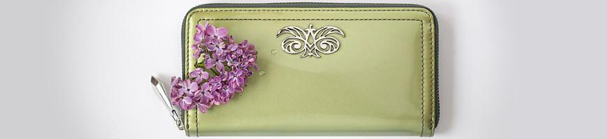 Petite maroquinerie de luxe pour femme, Porte feuille, carte, monnaie