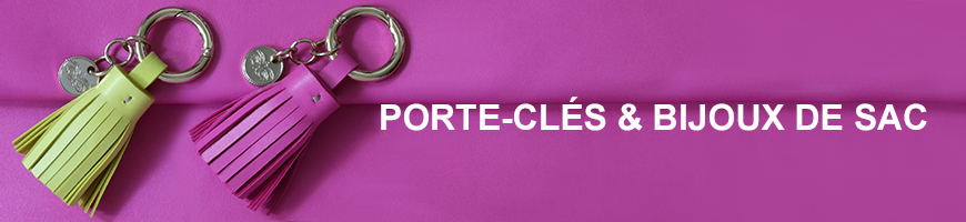 Porte-clés et bijou de sac