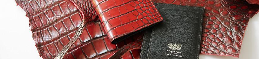 Crocodile wallets for man