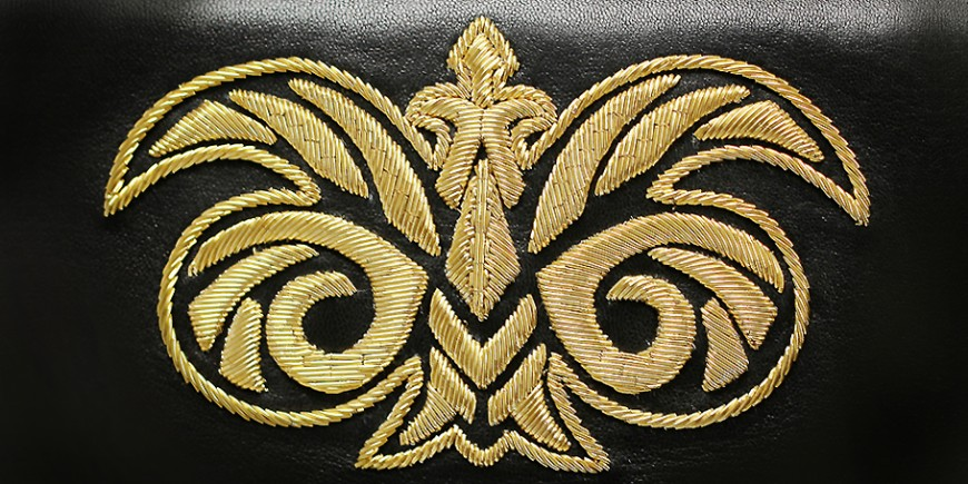 The embroidery Cannetille