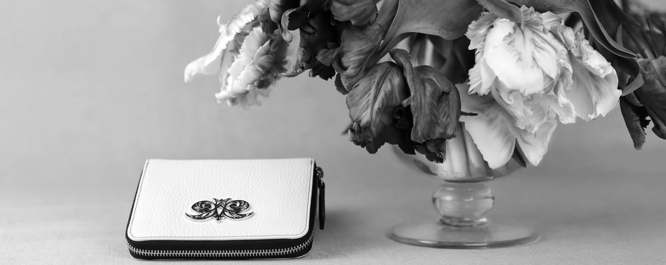 """Le portefeuille compact en cuir foulonné """"MADRID"""""""